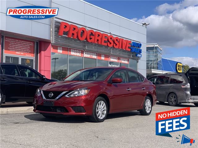 2019 Nissan Sentra 1.8 S (Stk: KY344082) in Sarnia - Image 1 of 18