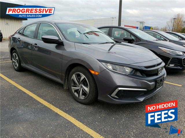 2019 Honda Civic LX (Stk: KH007466) in Sarnia - Image 1 of 5