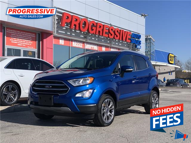 2019 Ford EcoSport Titanium (Stk: KC259217) in Sarnia - Image 1 of 23