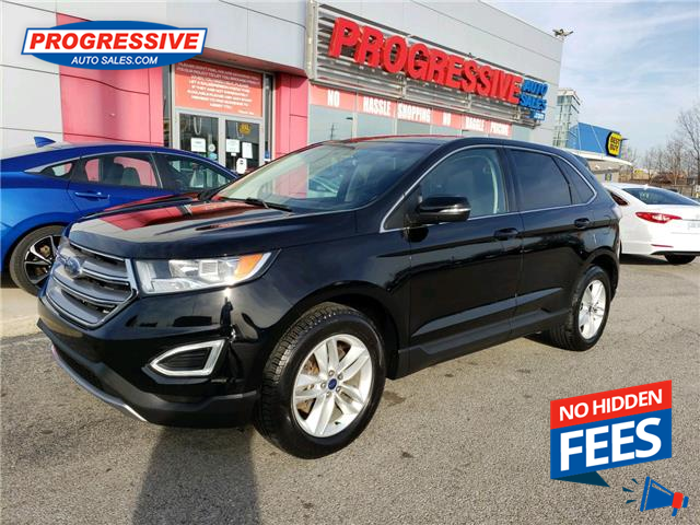 2016 Ford Edge SEL (Stk: GBC07791) in Sarnia - Image 1 of 22