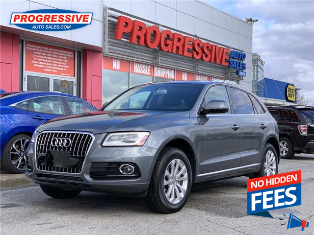 2017 Audi Q5 2.0T Progressiv (Stk: HA004109) in Sarnia - Image 1 of 24