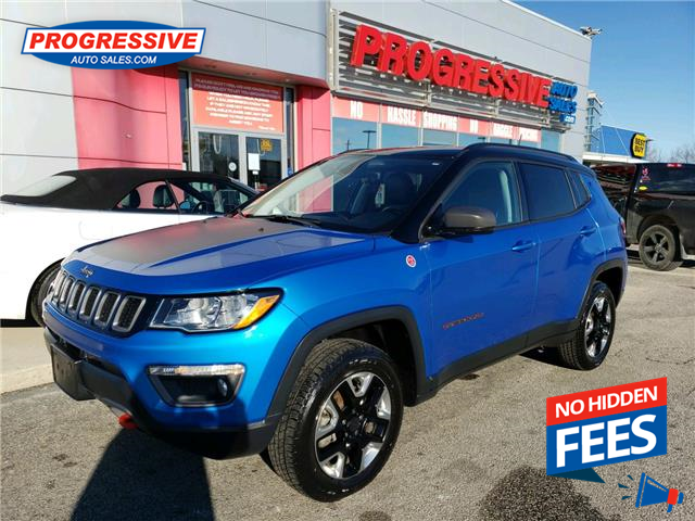 2018 Jeep Compass Trailhawk (Stk: JT325995) in Sarnia - Image 1 of 26