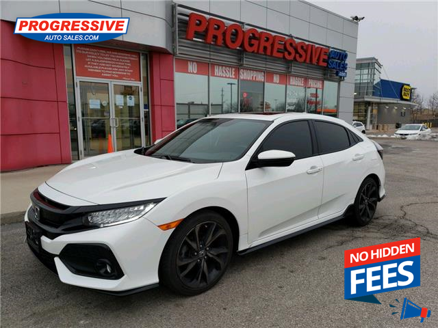 2018 Honda Civic Sport Touring (Stk: JU303820) in Sarnia - Image 1 of 25