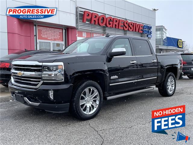 2018 Chevrolet Silverado 1500 High Country (Stk: JG102054) in Sarnia - Image 1 of 30
