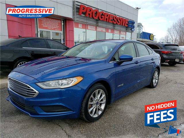 2017 Ford Fusion Hybrid S (Stk: HR134656) in Sarnia - Image 1 of 21