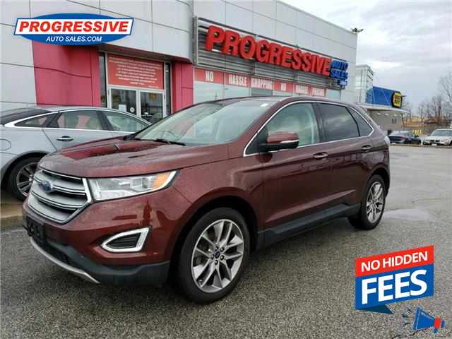 2016 Ford Edge Titanium (Stk: GBB45107) in Sarnia - Image 1 of 24