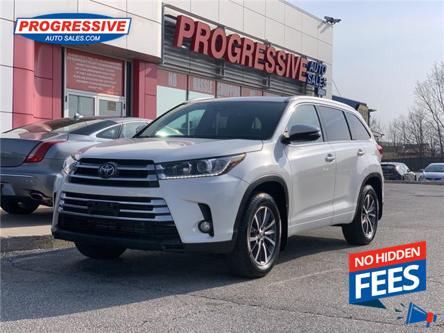 2018 Toyota Highlander XLE (Stk: JS554087) in Sarnia - Image 1 of 23