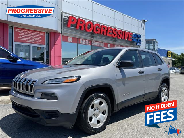2015 Jeep Cherokee North (Stk: FW597379) in Sarnia - Image 1 of 20