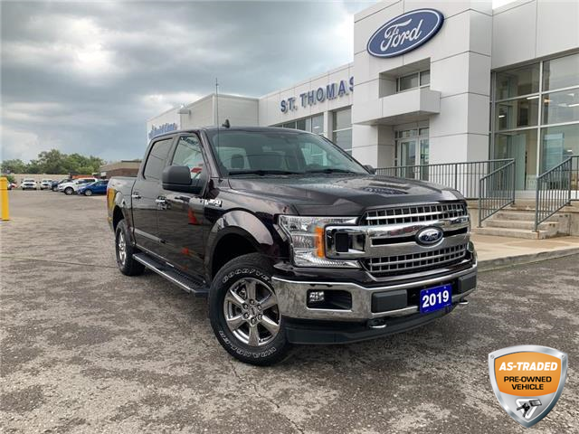 2019 Ford F-150 XLT (Stk: T0471A) in St. Thomas - Image 1 of 25