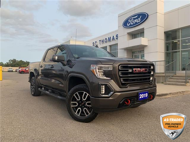 2019 GMC Sierra 1500 AT4 (Stk: T0503A) in St. Thomas - Image 1 of 29