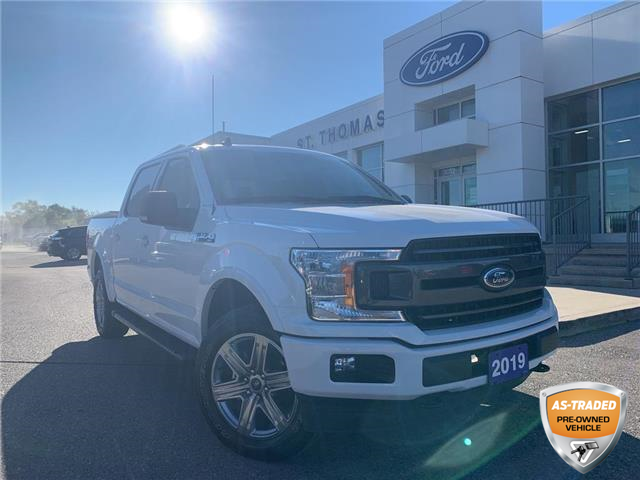 2019 Ford F-150 XLT (Stk: T0495A) in St. Thomas - Image 1 of 27