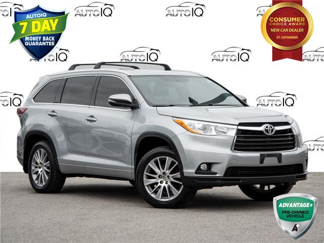 2015 Toyota Highlander XLE (Stk: 20F1863T) in St. Catharines - Image 1 of 27