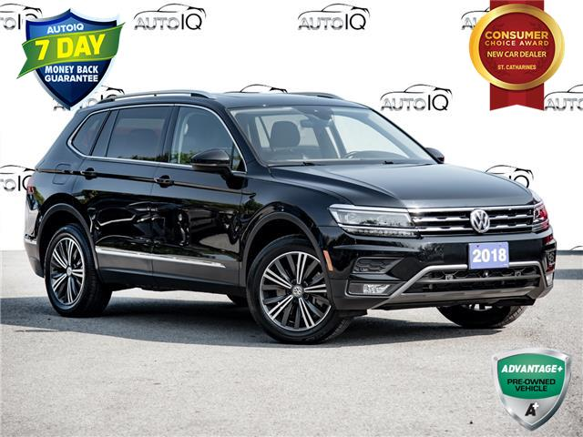 2018 Volkswagen Tiguan Highline (Stk: 20EX896T) in St. Catharines - Image 1 of 29
