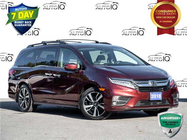 2018 Honda Odyssey Touring (Stk: 50-4) in St. Catharines - Image 1 of 29