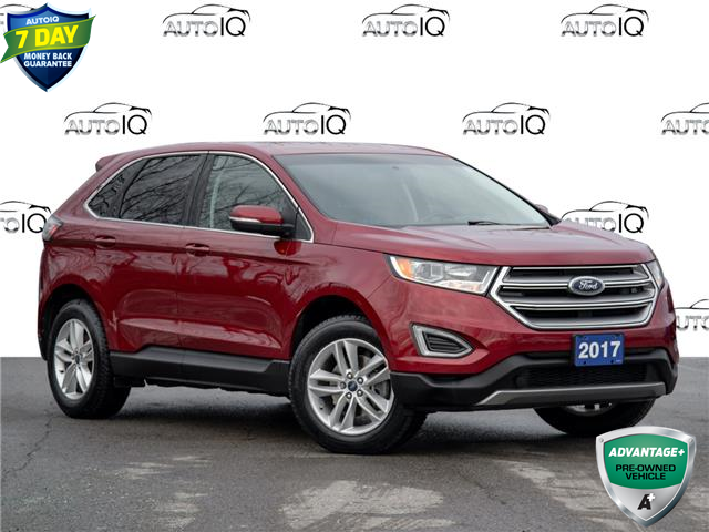 2017 Ford Edge SEL Red