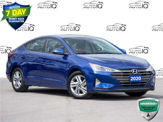2020 Hyundai Elantra Preferred w/Sun & Safety Package (Stk: 40-107) in St. Catharines - Image 1 of 8