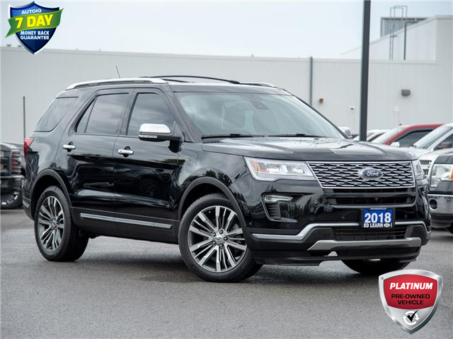 2018 Ford Explorer Platinum (Stk: 20EX279T) in St. Catharines - Image 1 of 24