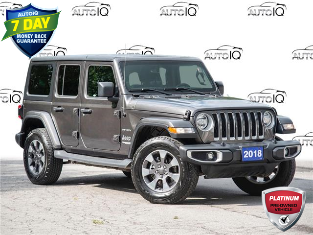 2018 Jeep Wrangler Unlimited Sahara (Stk: 50-203) in St. Catharines - Image 1 of 25