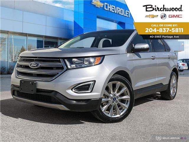 2017 Ford Edge Titanium (Stk: F36G4Z) in Winnipeg - Image 1 of 27