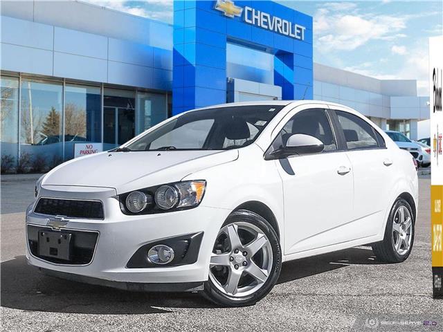 2016 Chevrolet Sonic LT Auto (Stk: F3BNNA) in Winnipeg - Image 1 of 27