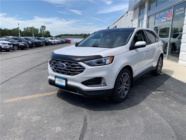 2019 Ford Edge Titanium (Stk: U1870) in WALLACEBURG - Image 1 of 15