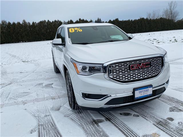 2018 GMC Acadia Denali (Stk: U1892) in WALLACEBURG - Image 1 of 16