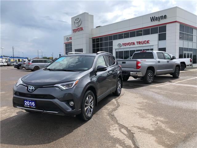 2016 Toyota RAV4 Hybrid XLE (Stk: 11149) in Thunder Bay - Image 1 of 29
