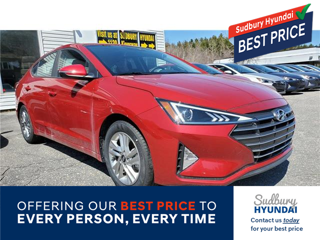 2020 Hyundai Elantra Preferred (Stk: 007121) in Sudbury - Image 1 of 1