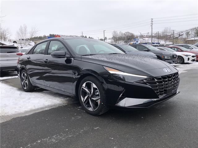 2021 Hyundai Elantra Ultimate w/Tech Pkg & Black Seats (Stk: 097273) in Sudbury - Image 1 of 1