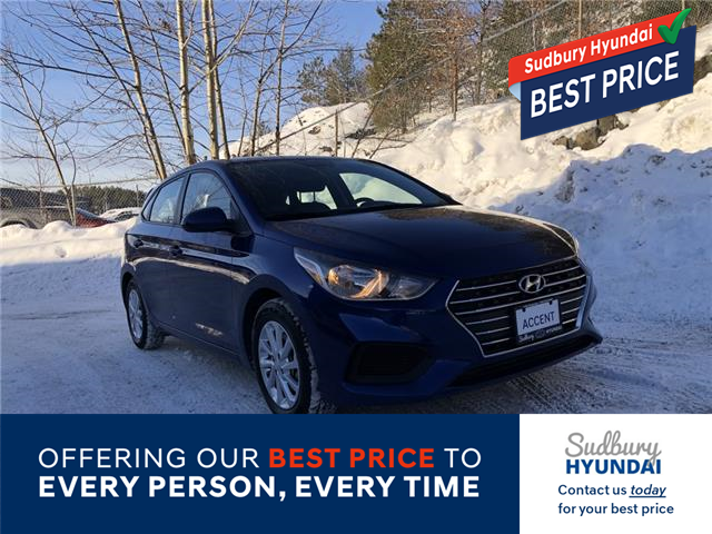 2020 Hyundai Accent Preferred (Stk: 108446A) in Sudbury - Image 1 of 20