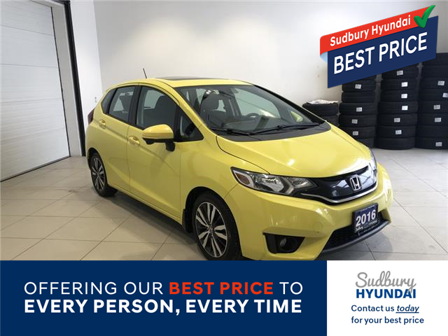 2016 Honda Fit EX (Stk: 665273A) in Sudbury - Image 1 of 20