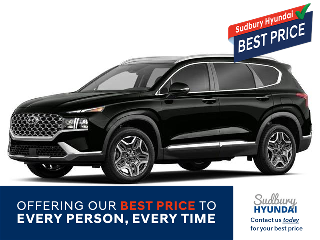 2021 Hyundai Santa Fe HEV Luxury (Stk: 003193) in Sudbury - Image 1 of 2