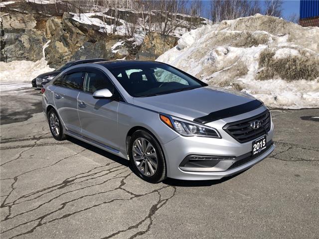 2015 Hyundai Sonata Sport (Stk: 062642A) in Sudbury - Image 1 of 21