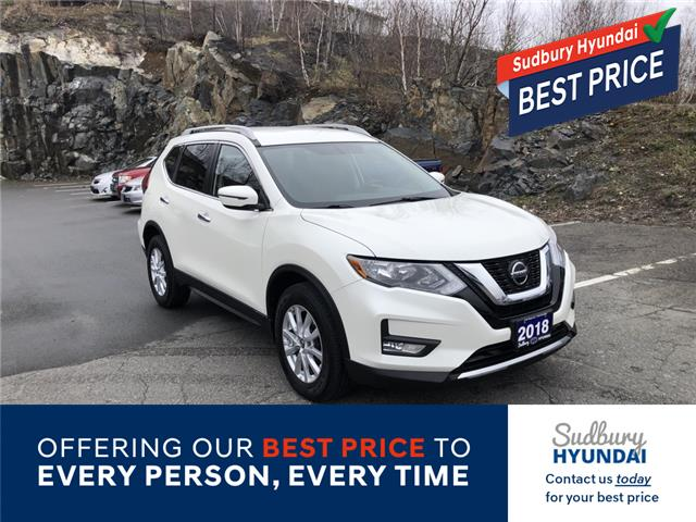 2018 Nissan Rogue SV (Stk: 003193A) in Sudbury - Image 1 of 20