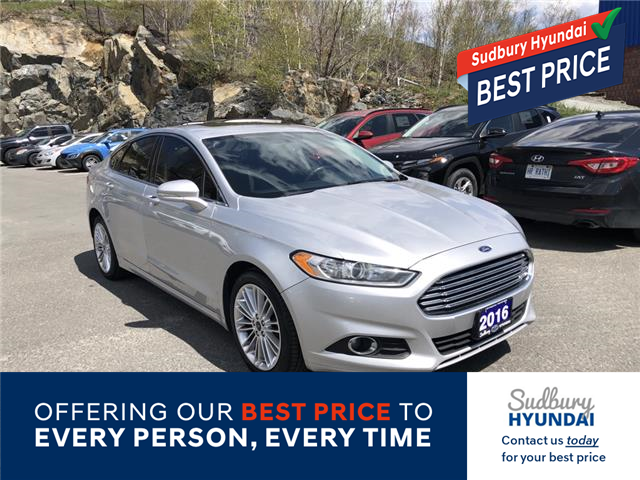 2016 Ford Fusion SE (Stk: 302255A) in Sudbury - Image 1 of 21
