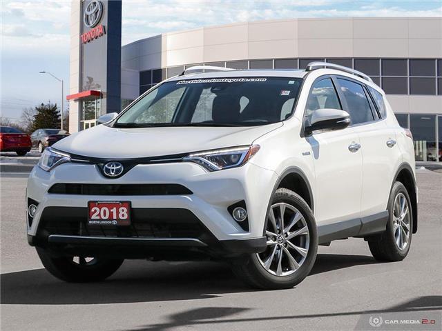 2018 Toyota RAV4 Hybrid Limited (Stk: A220620) in London - Image 1 of 27