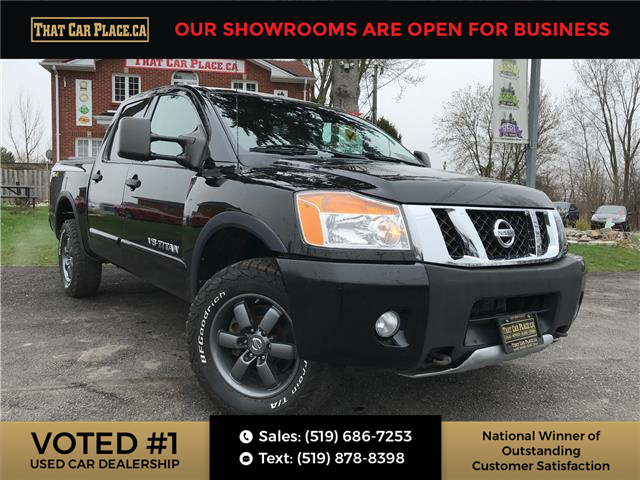 2013 Nissan Titan PRO-4X (Stk: 5110) in London - Image 1 of 25