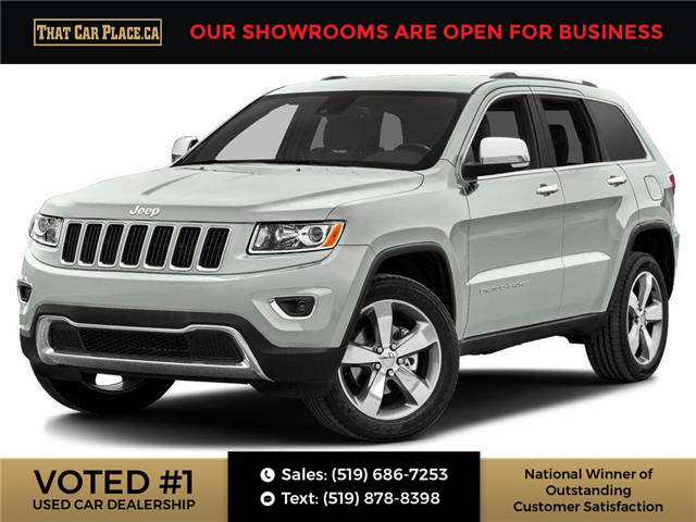2014 Jeep Grand Cherokee Limited (Stk: 5655) in London - Image 1 of 10