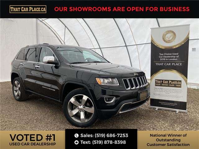 2016 Jeep Grand Cherokee Limited (Stk: 5781) in London - Image 1 of 29