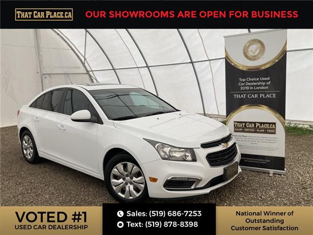 2016 Chevrolet Cruze Limited 1LT (Stk: 5828) in London - Image 1 of 30