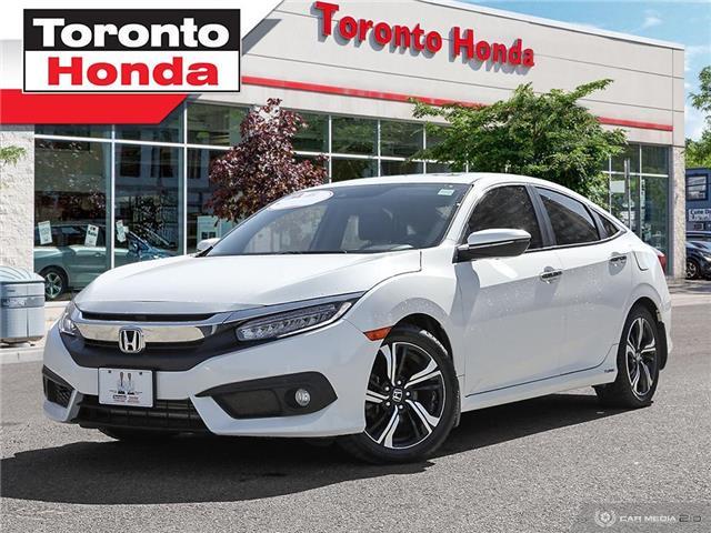 2016 Honda Civic Sedan Touring (Stk: H40166A) in Toronto - Image 1 of 27