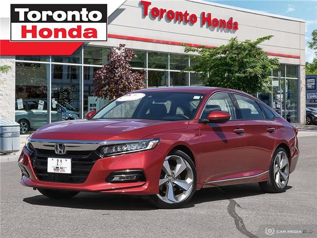 2018 Honda Accord Sedan Touring (Stk: H40265T) in Toronto - Image 1 of 27