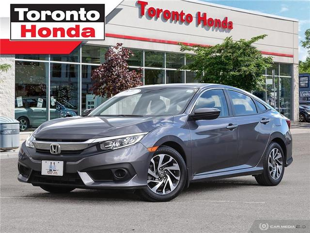 2018 Honda Civic Sedan w/Honda Sensing (Stk: H40301T) in Toronto - Image 1 of 27