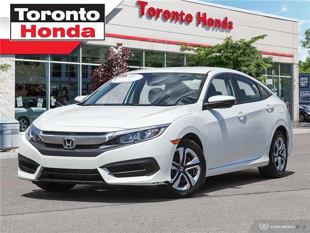 2016 Honda Civic Sedan  (Stk: H40310A) in Toronto - Image 1 of 27