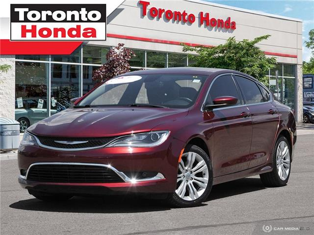 2015 Chrysler 200  (Stk: H40336T) in Toronto - Image 1 of 26