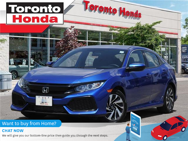 2017 Honda Civic Hatchback  (Stk: H40314T) in Toronto - Image 1 of 27