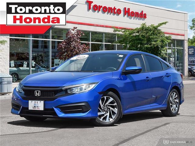 2016 Honda Civic Sedan  (Stk: H40387T) in Toronto - Image 1 of 27