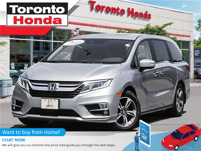 2019 Honda Odyssey w/Rear Entertainment System (Stk: H40356T) in Toronto - Image 1 of 27