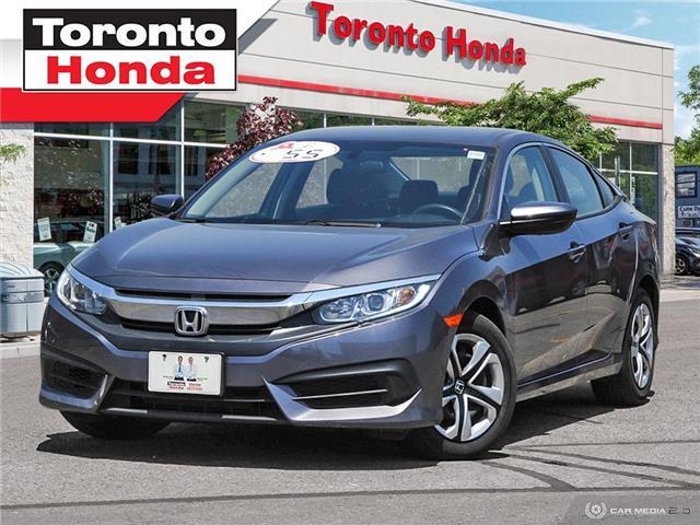 2017 Honda Civic Sedan  (Stk: H40317T) in Toronto - Image 1 of 28
