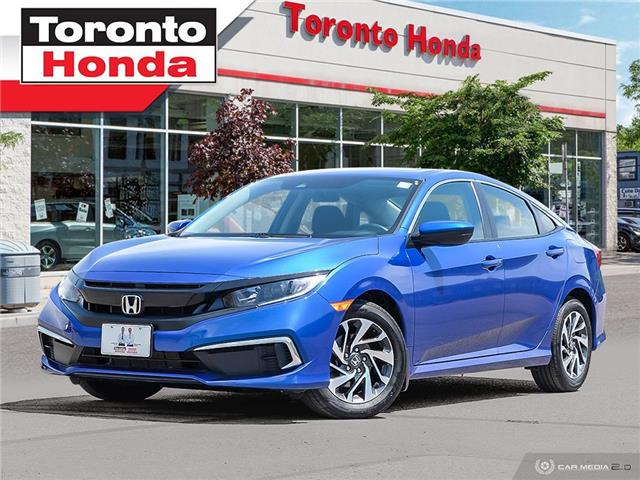 2019 Honda Civic Sedan EX (Stk: H40459T) in Toronto - Image 1 of 29